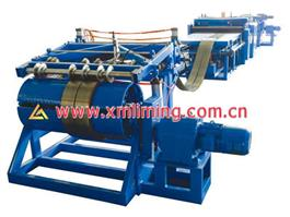 Leveling, Slitting and Shearing Line